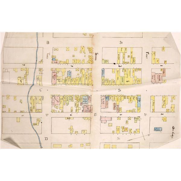 1888 Sanborn Fire Insurance Map for Anaconda  [140539]