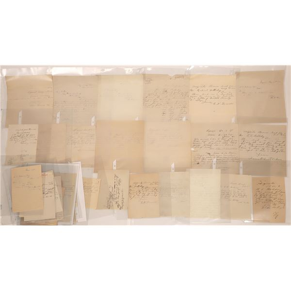 Argenta Letter Correspondence Collection  [140882]