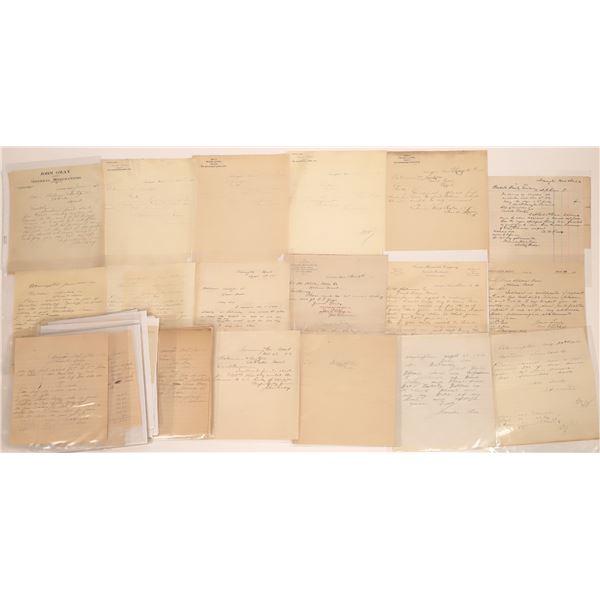 Armington Letter Correspondence Collection  [140883]