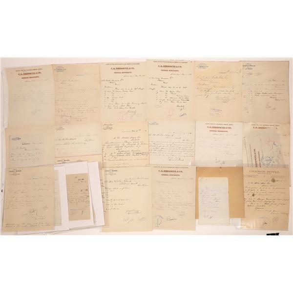 Avon Letter Correspondence Collection  [140884]