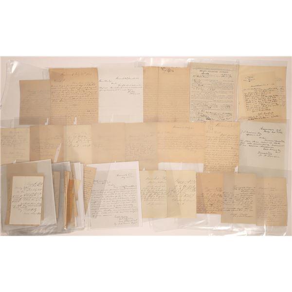 Bannack Letter Correspondence Collection  [140885]