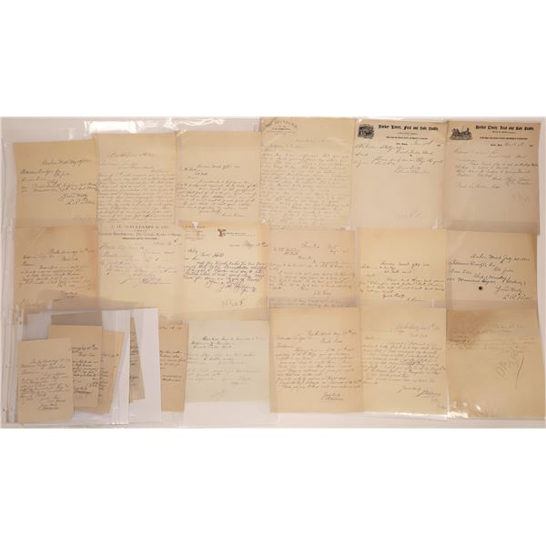 Baker Letter Correspondence Collection  [140886]