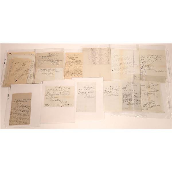 Bedford Letter Correspondence Collection  [140887]