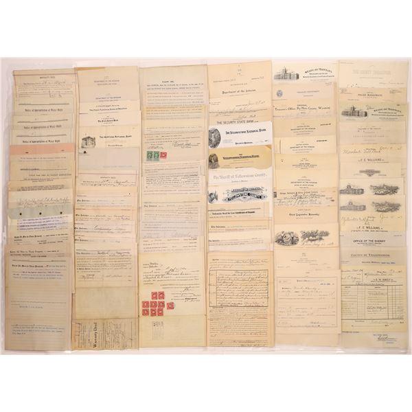 Billheads, Letterhead & Letters from Billings (Approx. 120)  [128075]