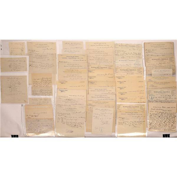 Mullan Pass Coal Company Documents (40)  [128988]