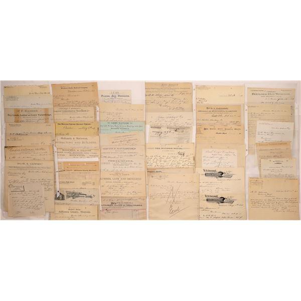 Boulder Letterheads (30)  [128987]