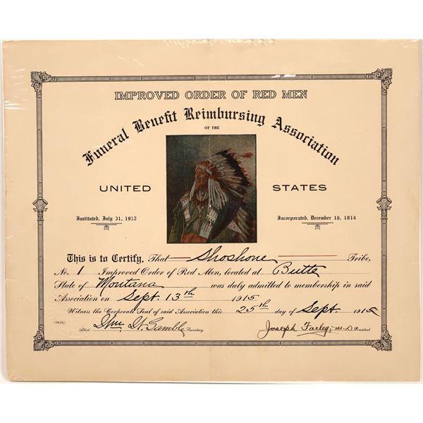 Funeral Benefit Reimbursement Association for Red Men  [139691]