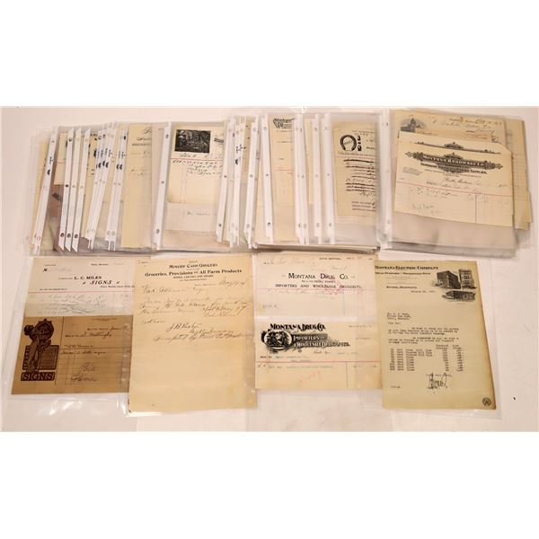 Butte, Montana Business Document Collection (115)  [128204]