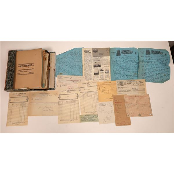 Wilson Drug Co. Original Business Correspondence File  [140698]