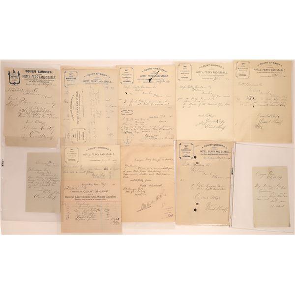 Canyon Ferry Correspondence Collection   [140904]