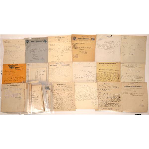 Cascade, MT General Commercial Letterheads & Billheads (75)  [140771]