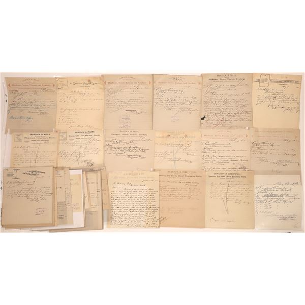 Castle Letter Correspondence Collection   [140903]