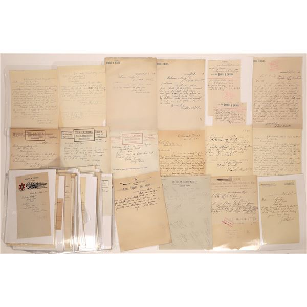 Chinook Letter Correspondence Collection   [140902]