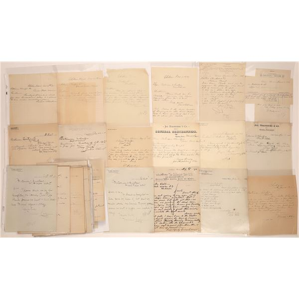 Choteau Letter Correspondence Collection   [140899]