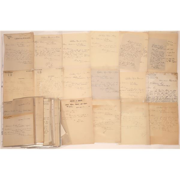 Choteau Letter Correspondence Collection Part 2  [140900]