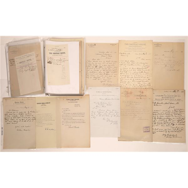 Choteau Letter Correspondence Collection Part 3  [140901]