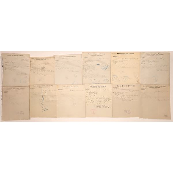Cinnabar Letter Correspondence Collection   [140898]