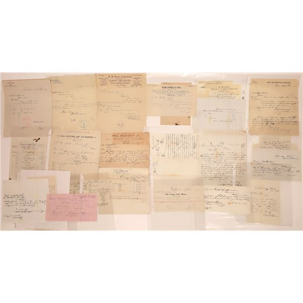 Clancy Letter Correspondence Collection  [140896]