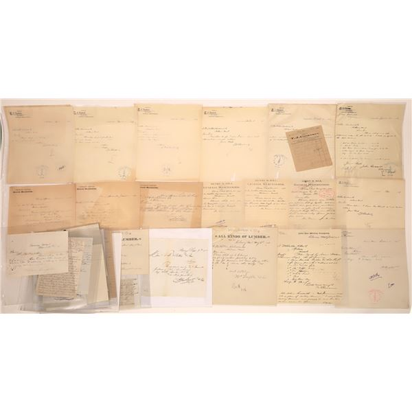 Clancy Letter Correspondence Collection Part 2  [140897]