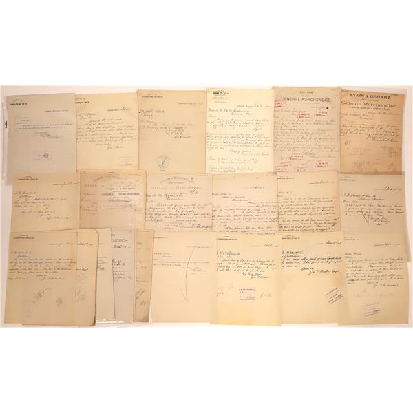 Cokedale Letter Correspondence Collection  [140894]
