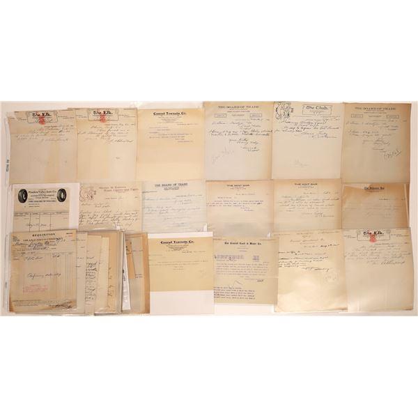 Conrad Letter Correspondence Group  [140841]