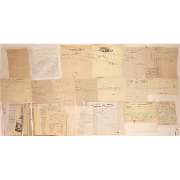 Deer Lodge Letter Correspondence Collection  [140892]