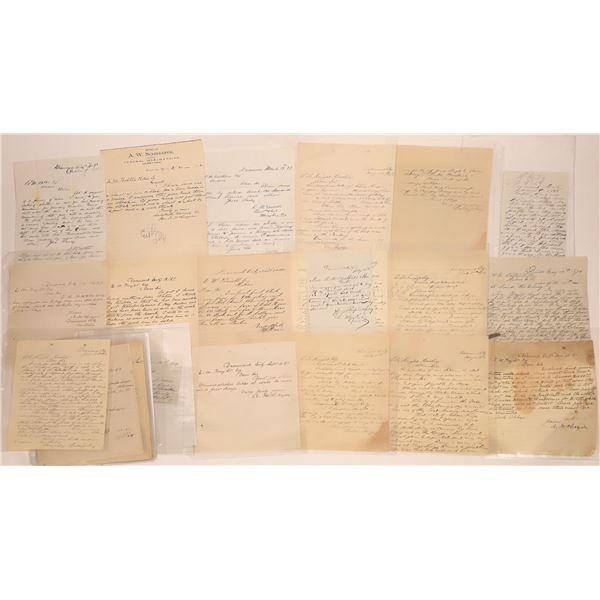 Diamond City Letter Correspondence Collection  [140891]