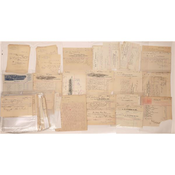 Letterheads & Billheads of Dillon, MT (Approx. 130)  [128081]