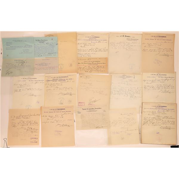 Drummond Letter Correspondence Collection  [140890]