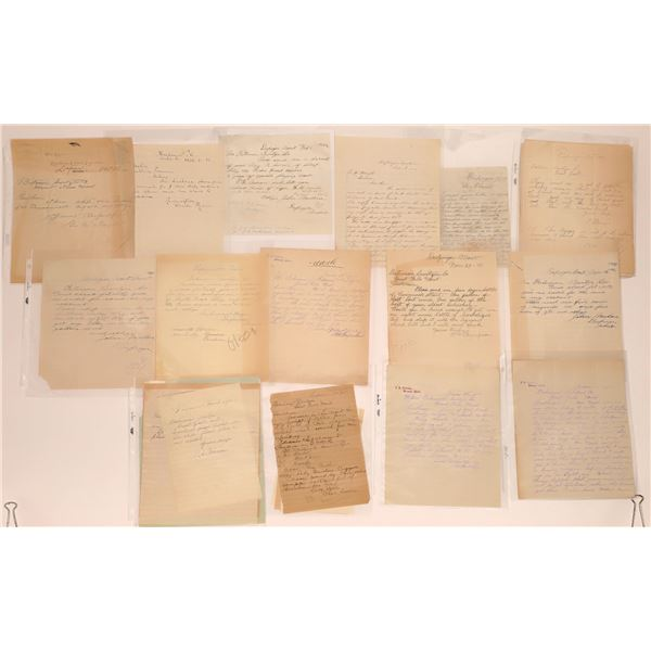 Dupuyer Letter Correspondence Collection  [140889]