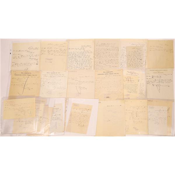 Elkhorn, MT General Commerce Billhead Duplicates & Manuscripts   [140852]