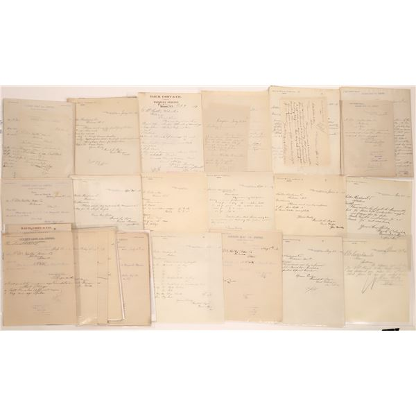 Empire Letter Correspondence Collection  [140879]