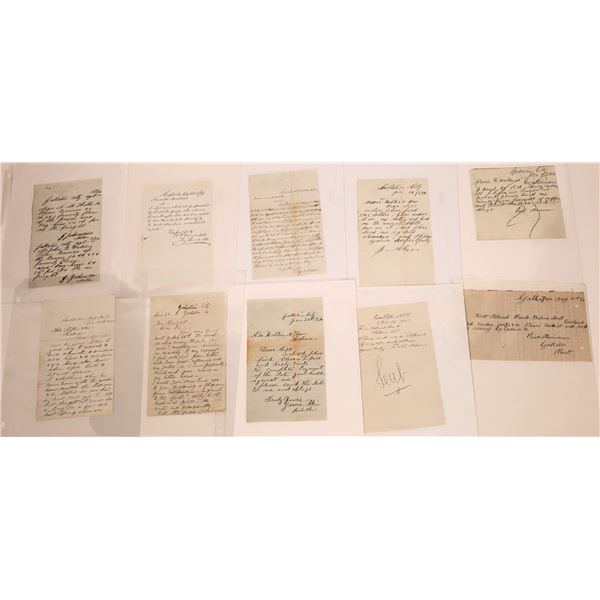 Gallatin Letter Correspondence Collection  [140878]
