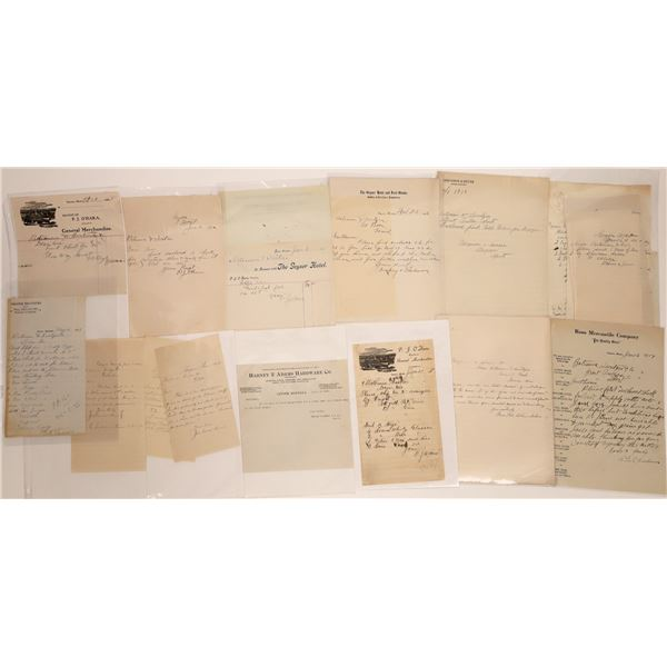Geyser Letter Correspondence Collection  [140877]