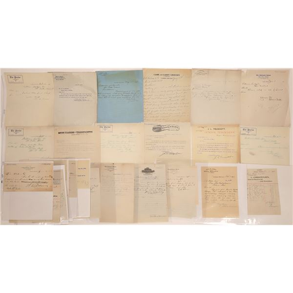 Glasgow Letter Correspondence Collection  [140876]