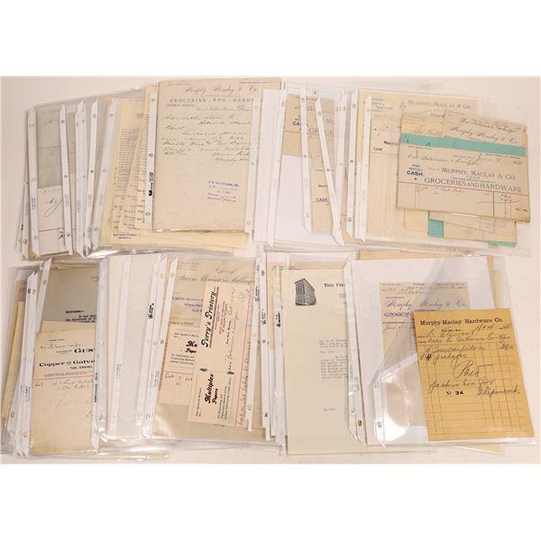 Receipts, Billheads & Bank Slips Great Falls, MT (75)  [128188]