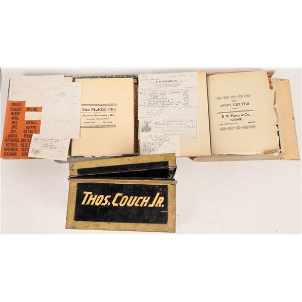 Couch Bros. Co. Original Correspondence Collection   [140699]