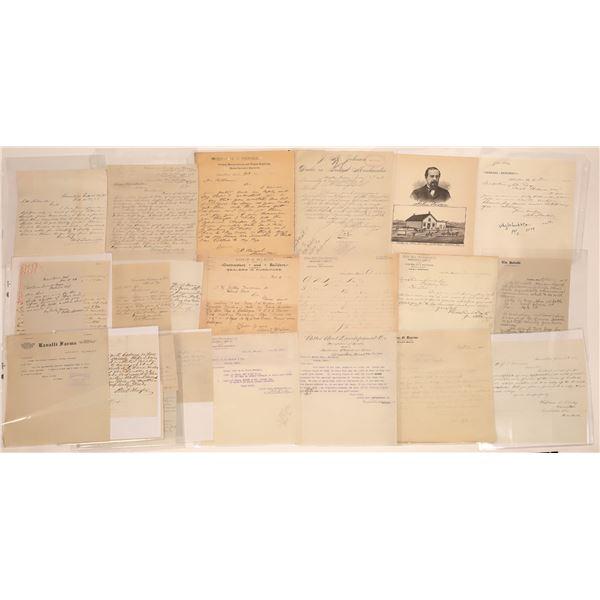 Hamilton Letter Correspondence Collection  [140874]