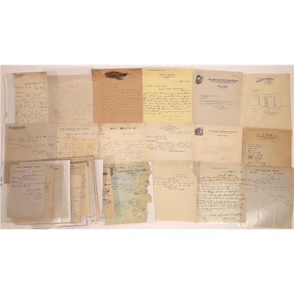 Harlem Letter Correspondence Collection  [140873]
