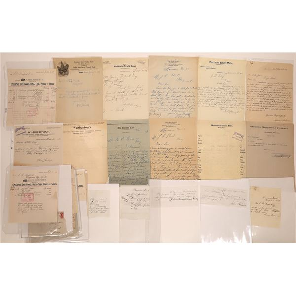Harrison Letter Correspondence Collection  [140872]