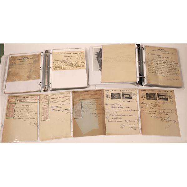 Havre, MT Bill and Letterheads (Approx. 140)  [128086]