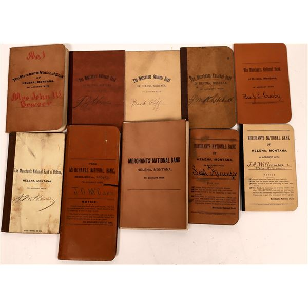 Collection of Merchants National Bank Books  [139938]