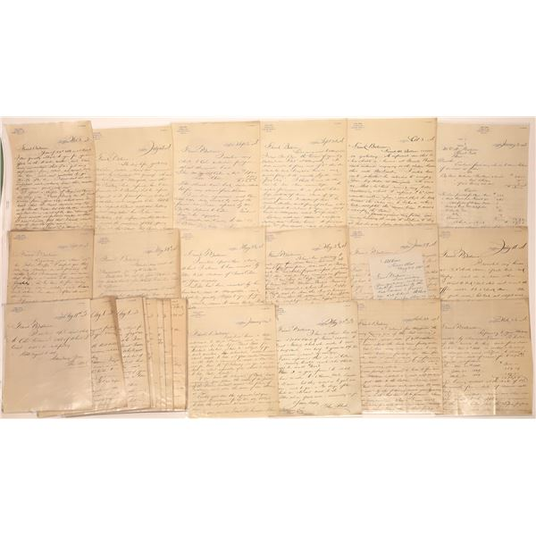Correspondence of Helena Lawyer Shed (Approx. 50 pieces)  [128089]