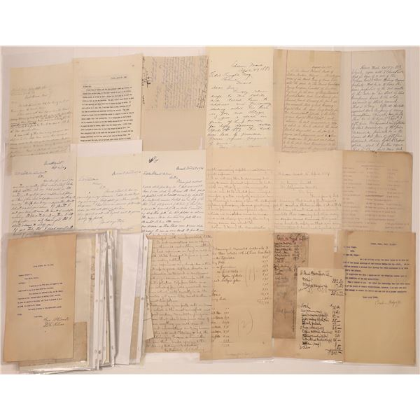 Handwritten Correspondence, Helena, MT (Approx.45)  [140511]