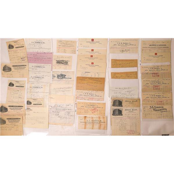 Helena Business Bill & Letterheads (Approx. 130)  [128063]