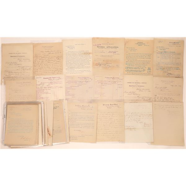Helena, MT. City, County & State Documents (Approx. 60)  [140424]