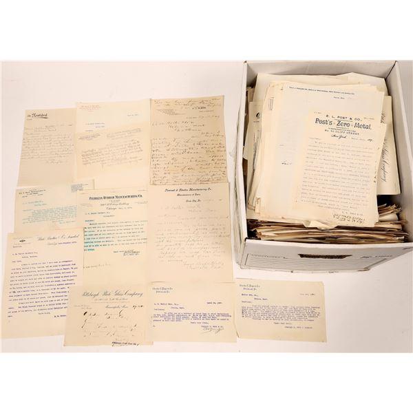 Holter Hardware, Helena MT Letter Archive  [139942]