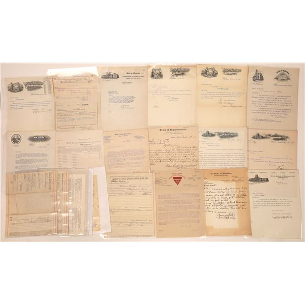 Montana State Documents (Approx. 25)  [140425]