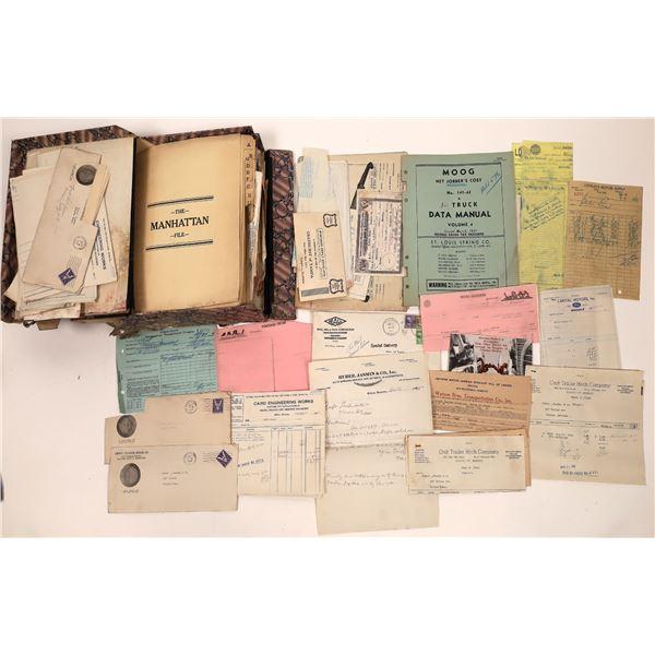 Huber-Jasmin and Co. Original Correspondence File  [140696]