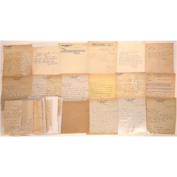 Hinsdale Letter Correspondence Collection  [140871]